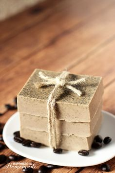 Quick & Easy DIY Coffee and Milk Soap