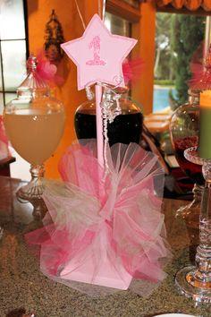 princess party centerpieces