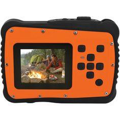 Coleman Megapixel Minixtreme Hd Video Waterproof Digital Camera Kit (orange) (pack of 1 Ea) Camera World, Little Camera, Waterproof Camera, Thing 1, Electronic Toys, Camera Reviews, Kit, Electronics Gadgets, Video Camera