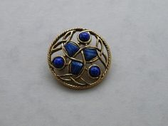 LOVELY VINTAGE MIRACLE CELTIC BROOCH    /cb1790/