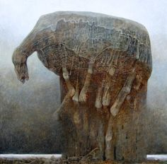 """Polish Painter Who Learned To """"Photograph Dreams"""" – His Works Will Give You Nightmares - TruthTheory"""