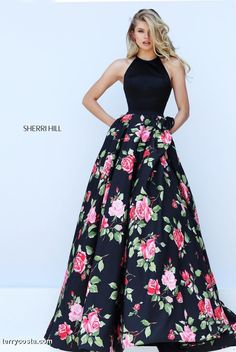 Sherri Hill Dress 50333 | Terry Costa Dallas www.terrycosta.com #promdresses #prom2016 #terrycosta