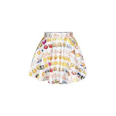 All Star Emoji Ladies Mini Skater Skirt Emoji Shirt Ladies Crop Top... ($20) ❤ liked on Polyvore featuring crop tops, pink, tops and women's clothing