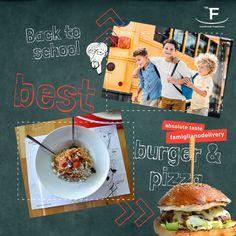 Η επιστροφή στα θρανία θέλει και πίτσα στο Famigliano... 💻 www.famiglianodelivery.gr ☎️ 2316.008.188 ➡️ Τσιρογιάννη 5, απέναντι από τον Λευκό Πύργο #handmade_happiness #Λευκός_Πύργος #famigliano #ourplace #myfamigliano Back To School, Breakfast, Handmade, Food, Morning Coffee, Hand Made, Eten, First Day Of School, Craft