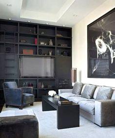 Aguirre Design - Modern Custom Made Wall Units.