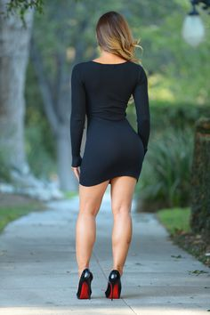 Valencia Dress - Black