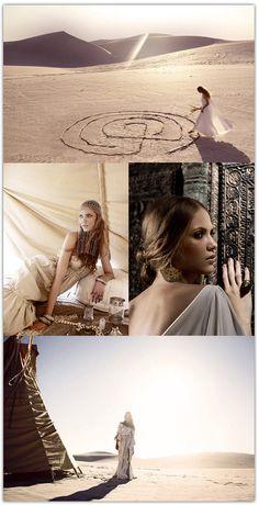 Moroccan Desert Bride