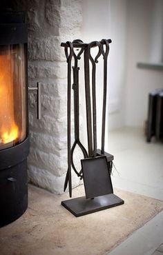 Fireside Tools Full Set - £110.00 - Hicks and Hicks
