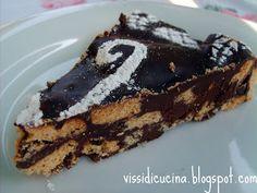 Vissi d'arte... e di cucina: Chocolate Biscuit Cake: una torta principesca!