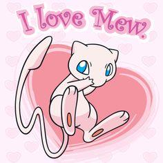 Pokémon Valentine's Day #Mew