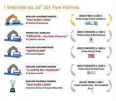 Est Film Festival 2016 a Montefiascone (Viterbo): i Vincitori X^ Edizione