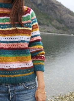 Fair Isle Knitting, Free Knitting, Sweater Knitting Patterns, Crochet Patterns, Knit Crochet, Knitwear, Sweaters, Clothes, Pickles