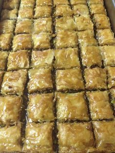 Traditional Turkish Bakalava  From the Kitchen of Paulie P