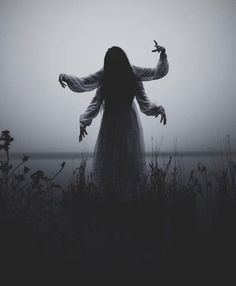 Image may contain: people standing, sky and outdoor Creepy Photography, Dark Art Photography, Horror Photography, Halloween Photography, Photography Poses, Creepy Images, Creepy Photos, Creepy Art, Arte Horror