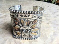 Gypsy Soule sugar skull bracelet