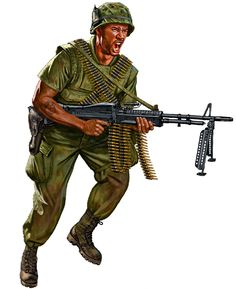 La Pintura y la Guerra. Sursumkorda in memoriam Vietnam History, Vietnam War, Military Art, Military History, Military Uniforms, Soldier Costume, British Army Uniform, Military Drawings, Military Modelling