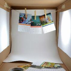 Super Quick Light Box for Better Photos