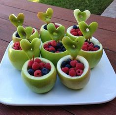 Creative healthy idea for the kids (or adults) :)