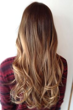 ombre on long thick hair - Google Search