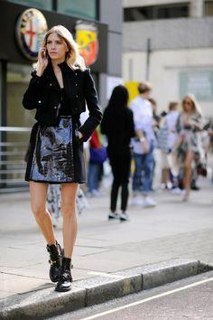 "naimabarcelona: ""London – Elena Perminova. Photo © Wayne Tippetts """