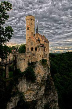 Castle Lichtenstein near Engstingen, Baden-Württemberg, Germany