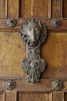 South America, Door knocker, Cuzco, Peru