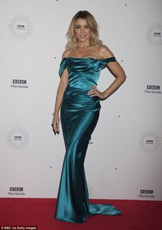 Star-studded:Posing up a storm as they walked the red carpet, the pair were in great company being joined by the likes of the ever glamorous Dannii Minogue