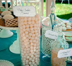 """Photo 1 of 13: Coastal / Bridal/Wedding Shower """"Elegant Beach Bridal Shower""""   Catch My Party  Pinned from PinTo for iPad """