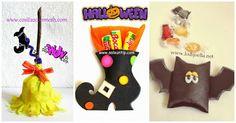 cómo hacer un souvenir para halloween paso a paso ~ cositasconmesh
