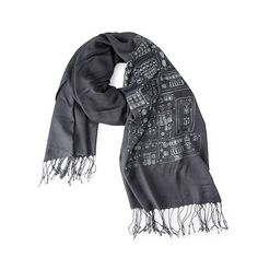 Look what I found at UncommonGoods: space shuttle control panel scarf... for $39.99 #uncommongoods