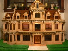 Its here at home - Extravagant Doll House - Gallery - The Greenleaf Miniature Community