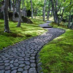 Mosaic+Walkway+Gardens | Path | Garden Paths, Mosaics & Rocks