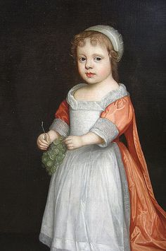Anne Fitzroy, daughter of Barbara Villiers, Duchess of Cleveland by lisby1, via Flickr