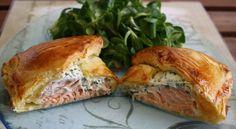 Feuilletés au saumon fumé et fromage frais : Toutes les recettes et conseils de cuisine