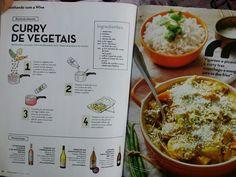 Curry de vegetais