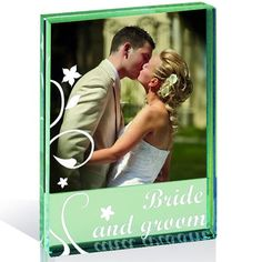 Bride and Groom Photo Frame.