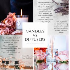 Scented candles vs. reed diffusers it can be a tough choice. But if you can't choose why not have both?
