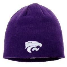 560ccb22bbf Top of the World Kansas State Wildcats Purple EZDOZIT Knit Beanie