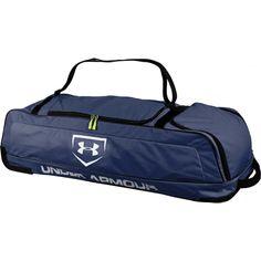 059d32780e60 Under Armour On Deck Roller Bag - Navy Softball Bags