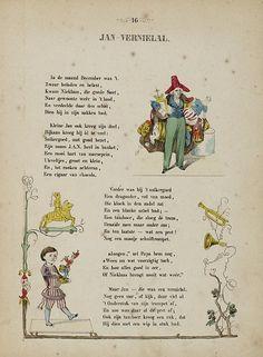 De ondeugende kinderen : een vermakelijk prenteboek met rijmen / van J.J.A.Goeverneur  (1852)