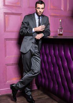 Sean Ward as Callum Logan in Coronation Street... Finally the face for Gideon Cross!! Just sayin'  tall, dark hair and crazy handsome!!