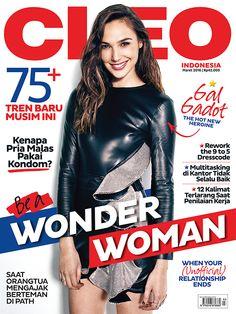 CLEO Indonesia edisi Maret dengan cover Gal Gadot