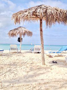 Beach day in Cuba