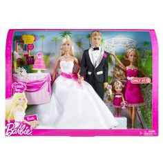 Barbie I Can Be- Bride Set - too cute for flower girl gift or for the bride at her shower! ;)