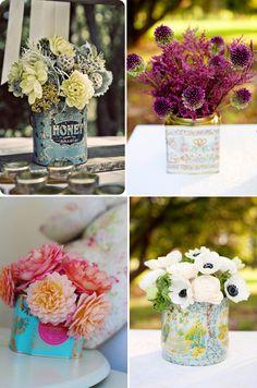 tea caddy vases