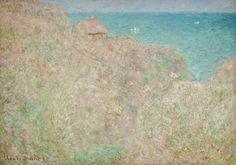 'Falaises à Varengeville'/'Petit-Ailly, Varengeville, plein soleil', 1897 - Los impresionistas en Normandía - 20minutos.es