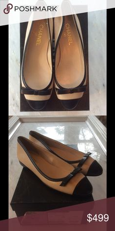 BNIB CHANEL Ballet Flat 39 Gorgeous, classic discontinued style. Perfect condition CHANEL Shoes Flats & Loafers