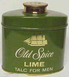 Old Spice, talkpoeder voor mannen Old Spice, Perfume, Morning Ritual, Wet Shaving, Vintage Labels, Flask, Childhood Memories, Spices, Lime