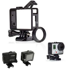 For Go Pro Accessories Standard Frame for Gopro Standard Frame(Camera+LCD BacPac/Battery)+UV Lens Kit Mount For Gopro Hero3 3+ 4. Yesterday's price: US $8.90 (7.32 EUR). Today's price: US $7.57 (6.21 EUR). Discount: 15%.