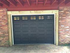 Black Garage Door Atlanta